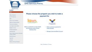 Make a Payment - Iowa DHS