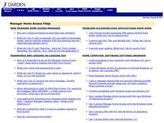 Manager Home Access: FAQ