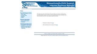 Massachusetts Child Support Login | Make a Payment | Child-Support ...