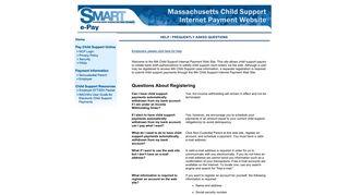 Massachusetts Child Support Payment Resource Center