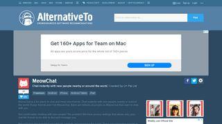 MeowChat Alternatives and Similar Apps - AlternativeTo.net