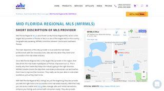 Mid Florida Regional MLS (MFRMLS) - Realtyna - Real Estate ...