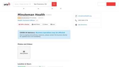 Minuteman Health - Health Insurance Offices - 38 Chauncy ...