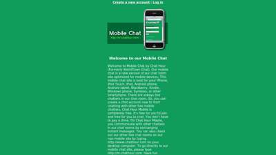 Mobile Chat - Weird Town