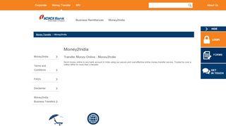 Money2India - ICICI Bank USA
