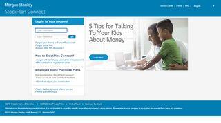 Morgan Stanley Online: Login