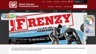 Mount Clemens Community Schools