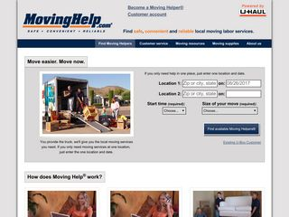 Moving Help® - Local Movers | Moving Labor Services | U-Haul partner