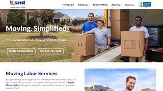 movinghelper.com at WI. Moving Helper® sign in - Website Informer