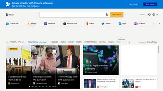 MSN Canada | Outlook, Office, Skype, Bing, Latest News and ...