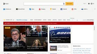 MSN | Outlook, Office, Skype, Bing, Breaking News, and Latest ...