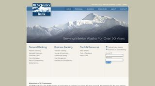 Mt. McKinley Bank - Fairbanks Alaska