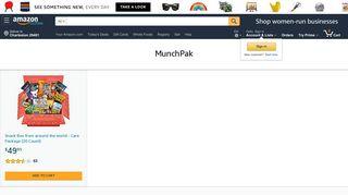 MunchPak - Amazon.com