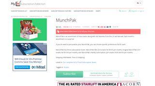 MunchPak   MSA