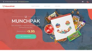 MunchPak: Popular Candy & Snacks From Around The World ...