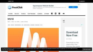 Musi – FrostClick.com   The Best Free Downloads Online