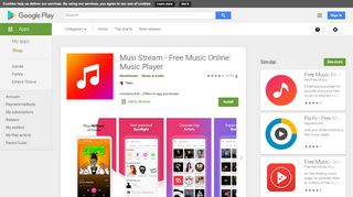 Musi Stream - Free Music Online: Music Player - Apps on ...