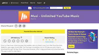 Musi - Unlimited YouTube Music - Zift App Advisor