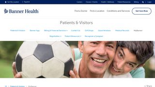 MyBanner Patient Portal | Patients and Visitors - Banner Health