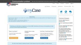 myCase - Home - Job.Utah.Gov