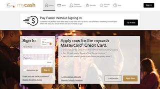 mycash Mastercard® - Manage your account - Comenity