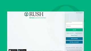 MyChart - Login Page - Rush University Medical Center