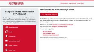 MyPlattsburgh - SUNY Plattsburgh