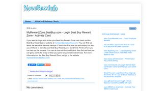 MyRewardZone.BestBuy.com - Login Best Buy Reward ... - NBI