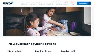 New Customer Payment Options - NIPSCO