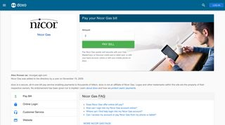 Nicor Gas: Login, Bill Pay, Customer Service and Care Sign-In - Doxo