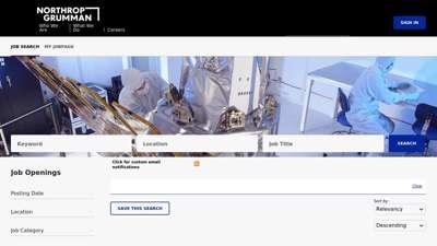 Northrop Grumman - Job Search