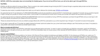NOTICE: A BTN Plus subscription does not include Big Ten ...