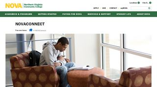 NOVAConnect :: Northern Virginia Community College