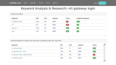 nrt gateway login  NRT Gateway - Sign In