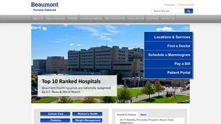 Oakwood Healthcare - now part of Beaumont Health - Oakwood