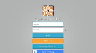 OCPS LaunchPad - ClassLink Launchpad