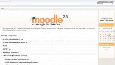 OCPS Moodle HS