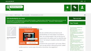 Old xboxlivefamily.com email - XBoX Forums