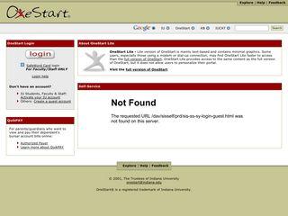 OneStart Retirement - Indiana University