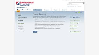 Online Banking | Brotherhood Bank & Trust