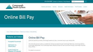 Online Bill Pay | Conemaugh Health System