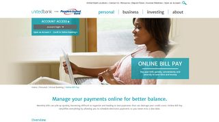 Online Bill Pay Service | Pay Bills Online | United Bank