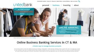 Online Business Banking | Business Services in CT & MA ...