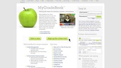 Online Gradebook Management & Access with Online Quizzes ...