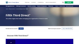 Online Money Management with Direct   Fifth Third Bank