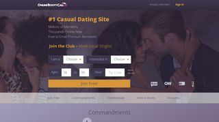 OnlineBootyCall - Casual Dating and Booty Call Fun For ...