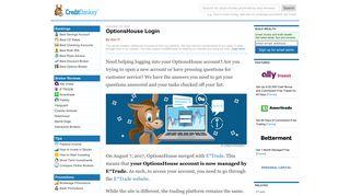 OptionsHouse Login: Stock Broker Trading - CreditDonkey