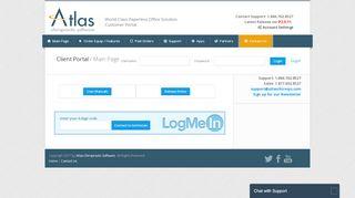 Order Site - Atlas Chiropractic Software
