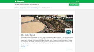 Otay Water District - Nextdoor