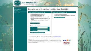 Otay Water District - Online BillPay
